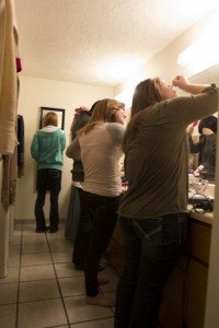 Students often live together in shared apartments as roommates at BYU-Idaho. According to Brown University's health education website, preventing conflict with a roommate is all about communicating beforehand. ABBY JACKSON | Photo Illustration