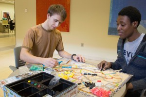 Each week, Game Night has a theme with featured games that follow the theme, according to the Social Student Activities Web page. For more information, students can visit the Web page. DIXON HERZOG| Scroll Photography