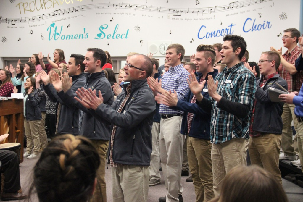 COLLEGIATE SINGERS | Courtesy Photo