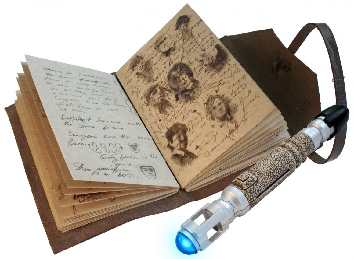 Journal of Impossible Things, Sonic Screwdriver pen, Doctor Who, Amazon, Underground Toys