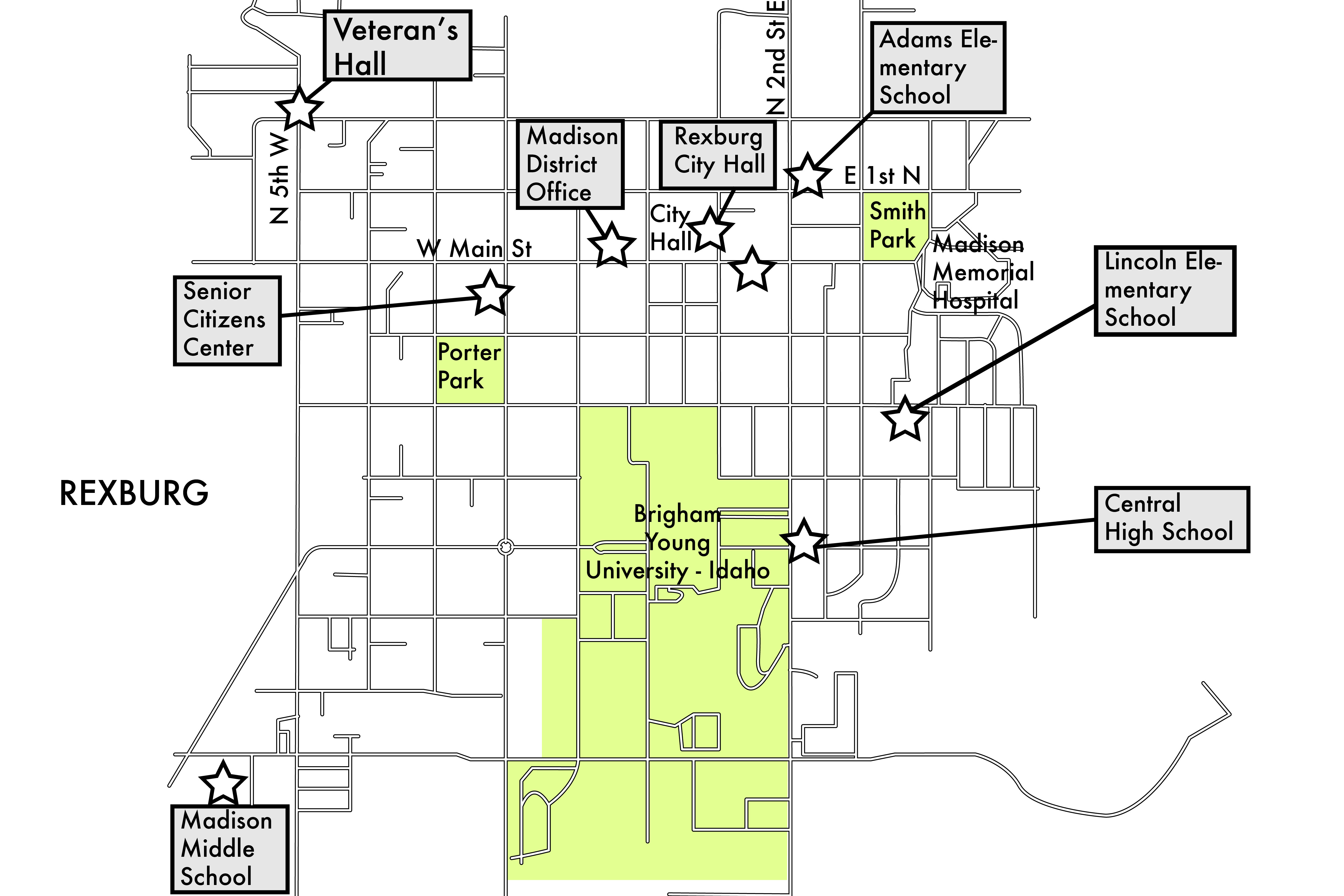 Map-of-Rexburg-Voting-Places-01 - BYU-I Scroll