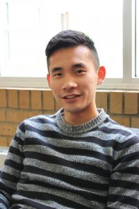 """Don't trust women,"" said Brian Choi, a sophomore studying accounting."