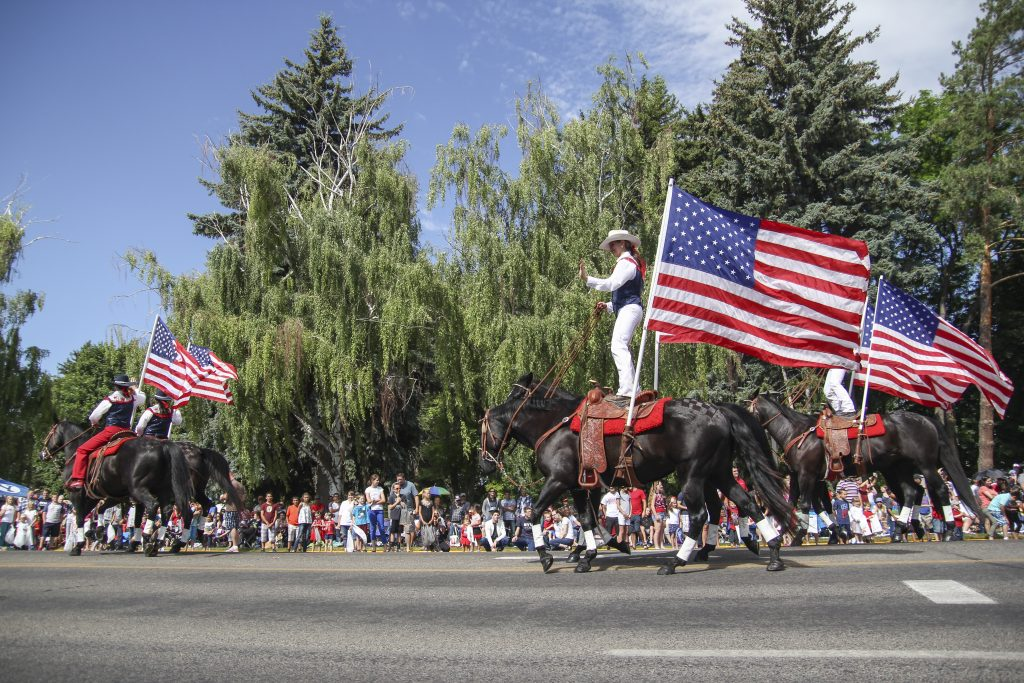 Rexburg 4th of July parade
