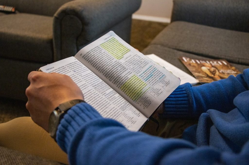 Daily scripture study is essential to staying spiritually fit.