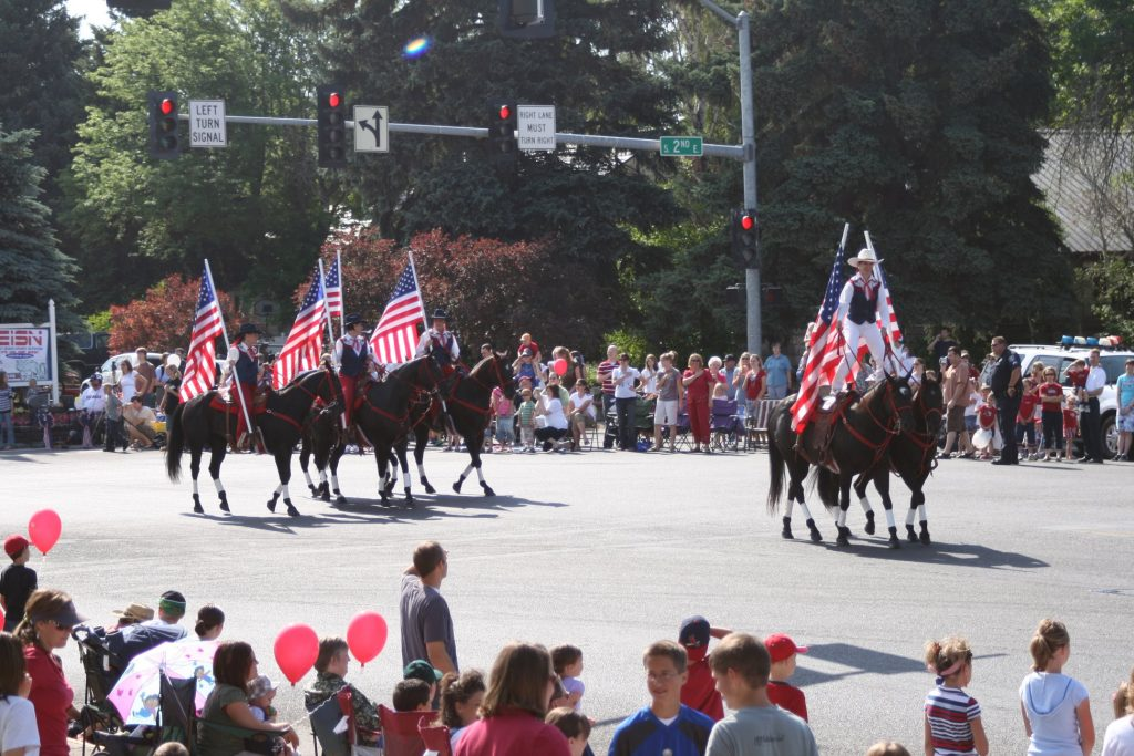 The Independence Day Parade from the previous year. Photo courtesy of the Rexburg Area Chamber of Commerce Facebook page.