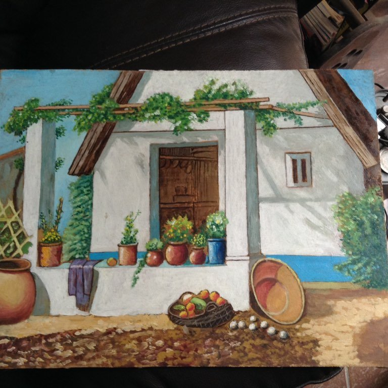 House painted by Jaime Lazaro