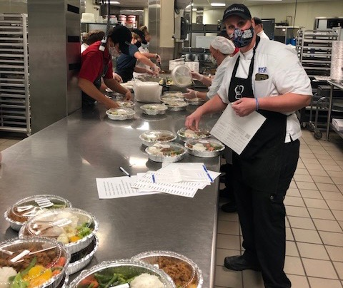Todd Huchendorf took this photo and it was taken at BYU-Idaho Catering Services.